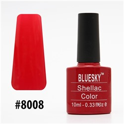 Гель-лак Bluesky Shellac Color 10ml #8008