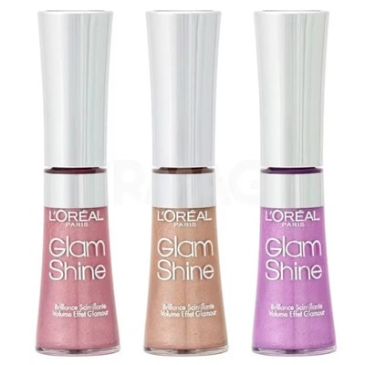 Блеск Loreal Glam Shine (3шт)
